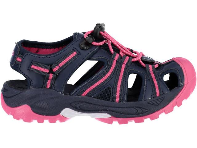 CMP Campagnolo Aquarii Hiking Sandals Kinder black blue-corallo